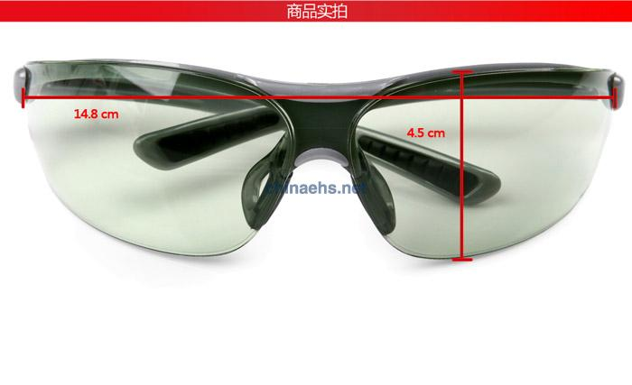 3M 1790G 防冲击浅绿色镜片防护眼镜